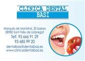 Clinica Dental en SANT FELIU DE LLOBREGAT: CLINICA DENTAL BASI